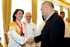 S Predsjednikom Republike Hrvatske gosp. Stjepanom Mesićem