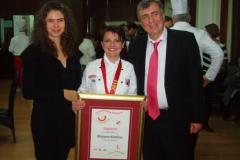 S Veleposlanikom Ukrajine NJ.E. Levchenko Oleksandr s kćeri
